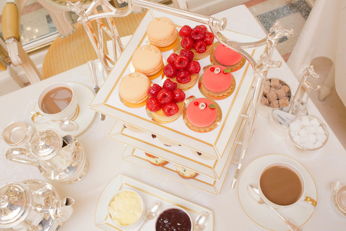 Afternoon Tea for Two with a Signed Ritz Cookbook