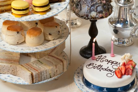 Celebration Afternoon Tea for Two with Celebration Cake