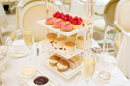 Champagne Afternoon Tea for Three