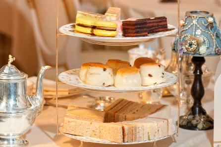 Traditional Afternoon Tea for Two with Tea Book
